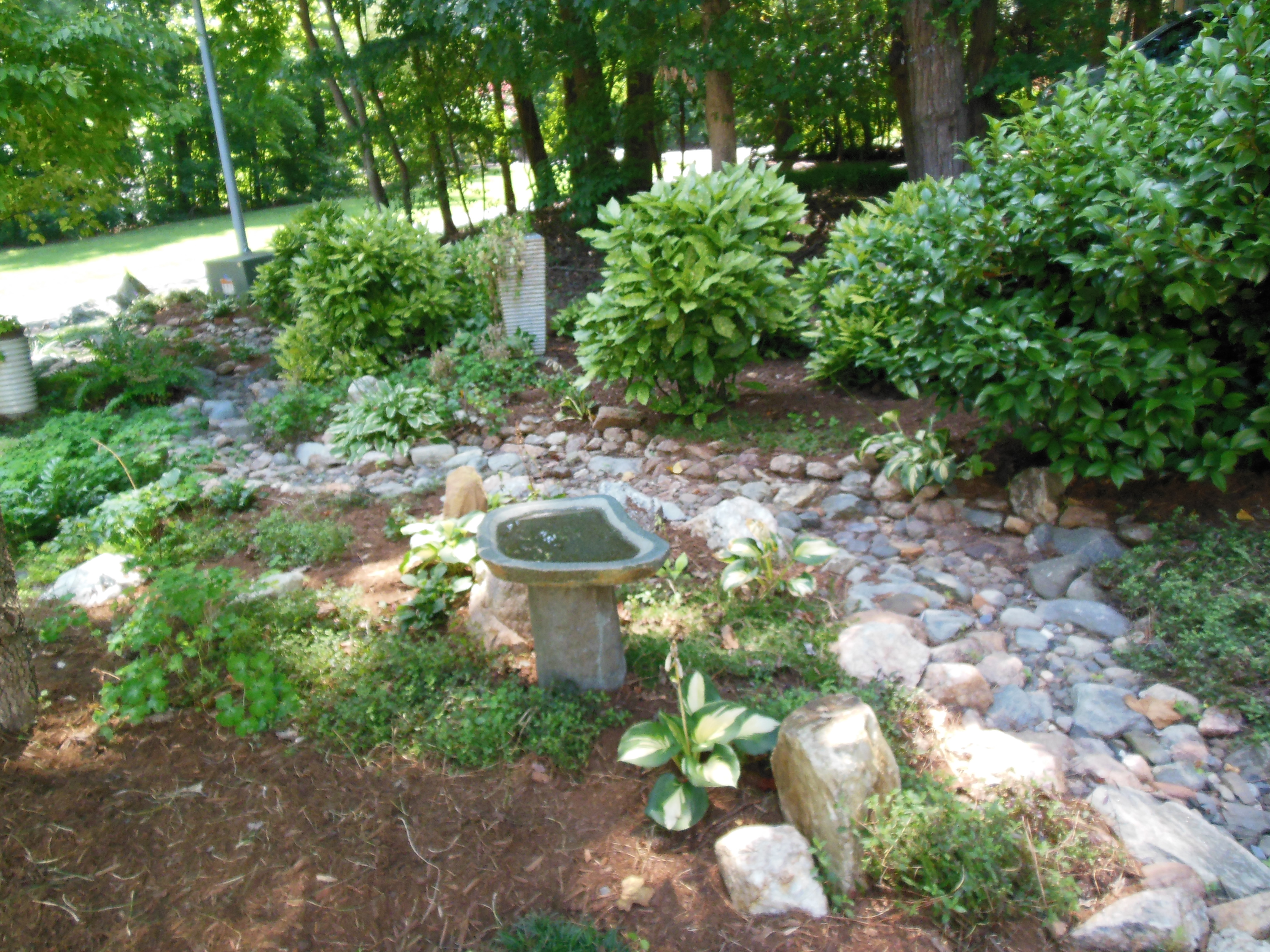 Raleigh Landscaping, Landscaping Raleigh, Dry Creek Bed, Raleigh Landscape, Hardscape