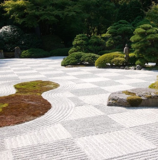 Raleigh Landscaping, Raleigh Landscape Contractors, Raleigh Garden Designers, Perennials, Japanese Gardens, Moon Bridge, Japanese Lantern, Zen Garden