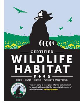 Certified Wildlife Habitat, Wildlife Garden, Certified Wildlife Garden, Wildlife, Pollinators
